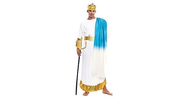 Disfraz Griego Neptuno Hombre (Talla S) (+ Tallas) Carnaval ...