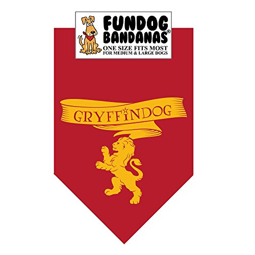 HP GryffinDog Bandana (One Size Fits Most for Medium to Large Dogs) -