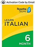 Rosetta Stone: Learn Italian for 6 months on iOS, Android, PC, and Mac - mobile & online access [PC/Mac Online Code]