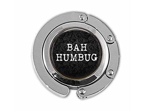 BAH Humbug Hanger - Funny Christmas Quote Jewelry -