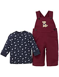 Baby Boys' 2 Piece Knit Overall Set