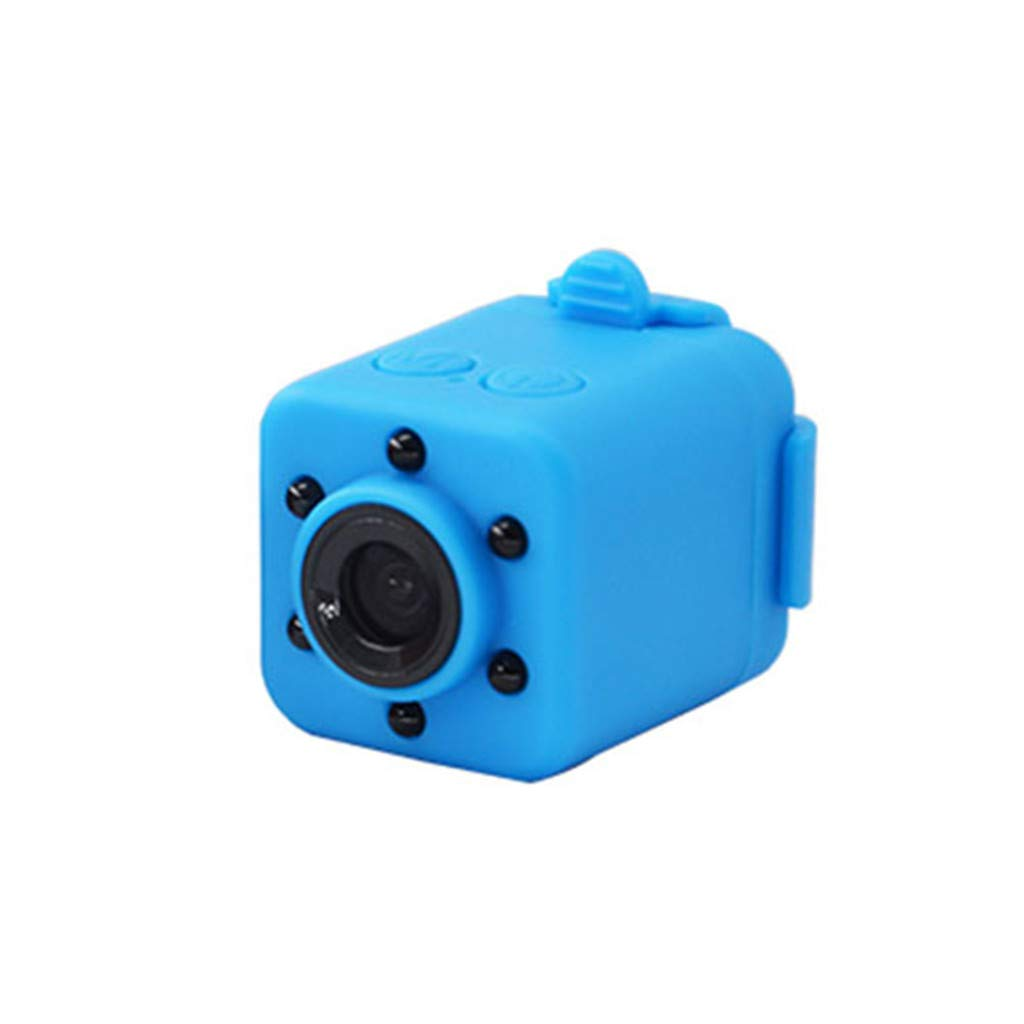 CZYCO Portable Sports Camera 1080P Mini HD Camera Night Vision Motion Detection DV Video Recorder(Blue) by CZYCO Sports Camera