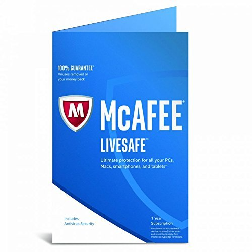 McAfee(R) LiveSafe 2017, For Unlimited Devices, For PC/Mac/Mobile, eCard