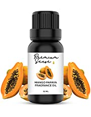 Mango Papaya Premium Quality Fragrance Oil 15ml – Suitable for Gel Candles, Soap, Candles/Incense, Skin and Hair Care – Exquisite and Intense (15ml) (Mango Papaya)