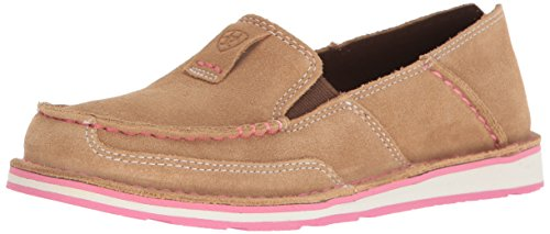 Ariat Women's Cruiser Slip-on Shoe, Dirty Taupe Suede, 7.5 B US