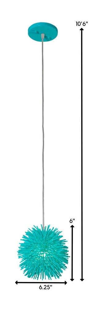 Amazon.com: varaluz 169 m01s Urchin sola luz 6.3