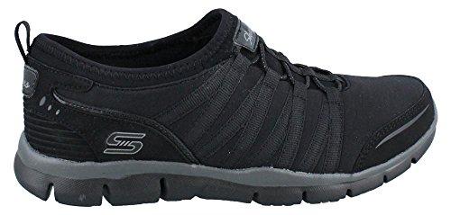Low Gratis Skechers it Top Women's Sneakers Black Off nbsp;Shake qX77wxFrd