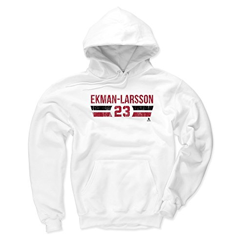- 500 LEVEL Arizona Coyotes Men's Hoodie - XXX-Large White - Oliver Ekman-Larsson Font R