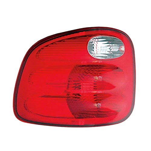 HEADLIGHTSDEPOT Tail Light Compatible with Ford F-150 Heritage Left Driver Side Tail Light For Flareside Models
