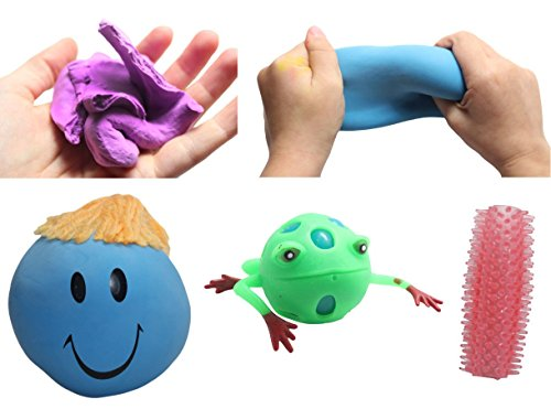 Curious Minds Busy Bags Sensory Bundle #5 - Tactile Toy Assortment Bundle for Sensory Processing Disorder Sensory Integration (Sensory Integration Therapy Toys)