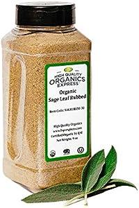 Giveaway: HQOExpress Organic Sage Leaf Rub 9 oz. Chef Jar
