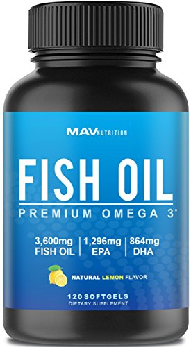Premium Fish Oil Omega Burpless product image