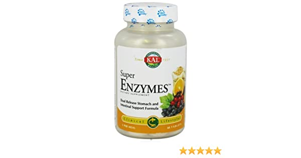 Kal Super Enzymes - 60 Tablets