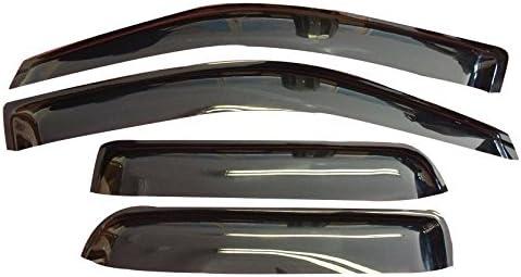 2 Pieces HEKO-13150 Wind Deflectors Fits DAF 95 XF 105 XF 2007 on 2-Door Pick Up