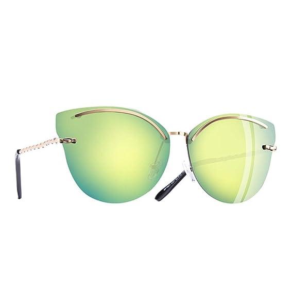Wang-RX Ojo de gato gafas de sol de las mujeres de moda ...