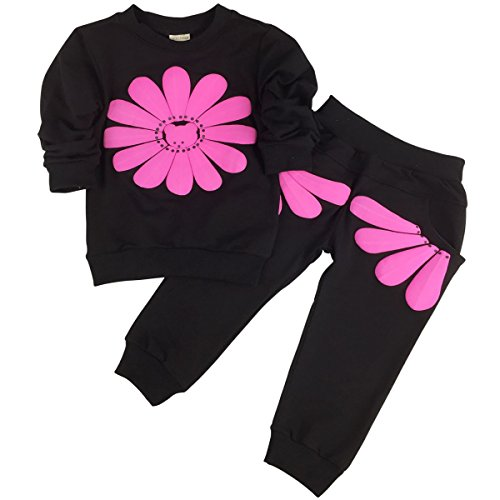jastore-baby-girl-2pcs-sunflower-clothing-sets-top-and-pants-fall-clothes