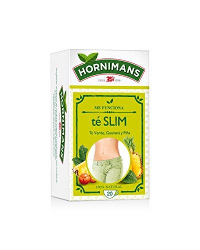 Hornimans - Bolsitas Te Verde, guarana Y Pina Me Funciona 20 x 1,5 g