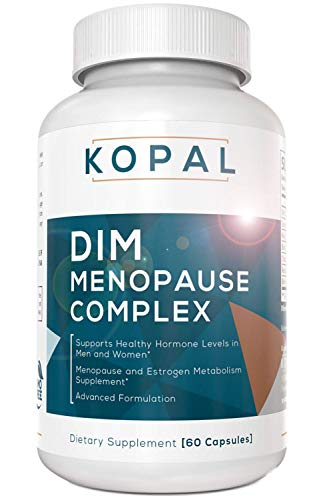Menopause Relief & Hormone Balance Supplement | Hot Flashes & Night Sweat Relief | 250mg DIM + Bioperine®, Black Cohosh, Dong Quai | Natural Hormone Balance for Women - Estrogen Pills