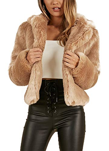 b5e182519ea4 Manteau Imprimé Femme Brown Romacci D hiver Veste Vêtements Pour Léopard  Manches À Entaillé Collier En ...