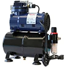 Paasche D3000R 1/5 HP Compressor with Tank, Regulator and Moisture Trap
