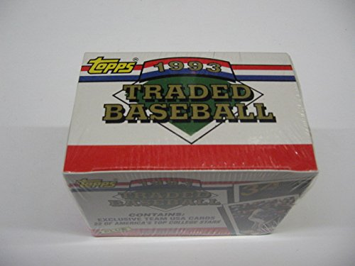 1993 Topps Baseball Traded Factory Set