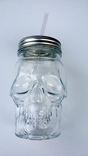 Mainstays Clear Skull Sipper