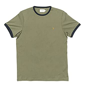 Farah T-Shirts For Men, Green, S