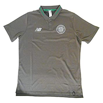 New Balance 2018/19 - Polo de Ocio Celtic Elite, Gris, Large ...