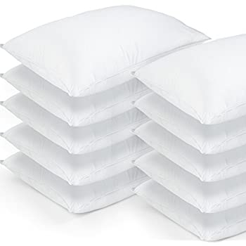 Amazon Com 10 Pack Hotel Style Hypoallergenic Down