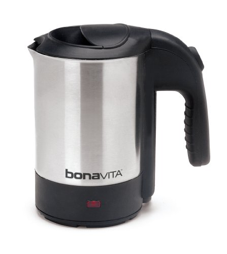 (Bonavita 0.5L Mini Kettle, Stainless Steel)