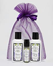 Lilac & Gooseberry Gift Set | Perfume with Travel Size Lotion and Body Wash | Yennefer Scent of a Sorceres