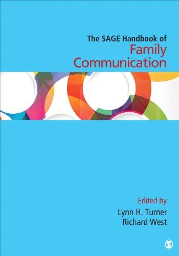 The SAGE Handbook of Family Communication (Sage Handbooks) Pdf