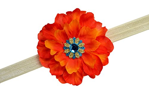 [Island Princess Flower Headband for Babies and Toddlers (12 Months to 3 Years)] (Polynesian Girl Costume)