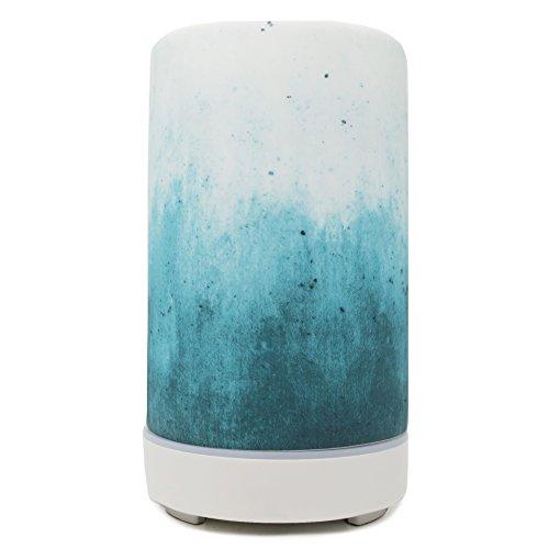Edens Garden Ultrasonic Ceramic Essential Oil Diffuser For Aromatherapy, Blue