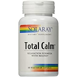 Solaray Total Calm VCapsules, 30 Count