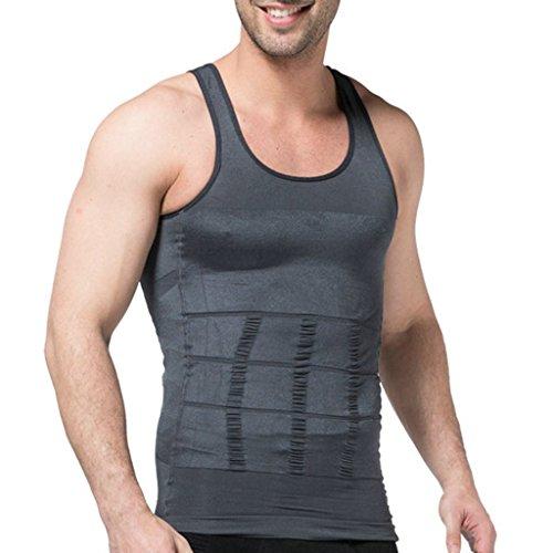 5fd0cb0e05ab4 Jiao Miao Mens Slimming Waist Body Shaper Vest - Import It All