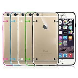 GX Cubierta Posterior - Diseño Especial/Otros/Innovador - para iPhone 6 ( Negro/Blanco/Verde/Azul/Rosa , Policarbonato ) , White