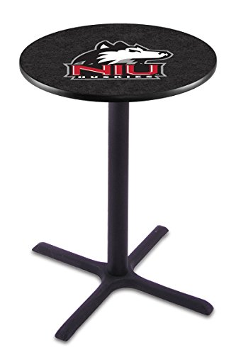 (Holland Bar Stool L211B University Of Northern Illinois Officially Licensed Pub Table, 28