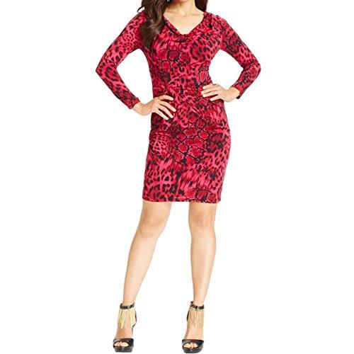 Pink Animal Print Dress - 6