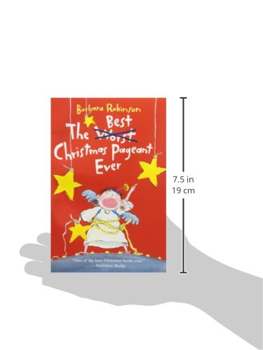 The Best Christmas Pageant Ever: Barbara Robinson: 0201564402754 ...