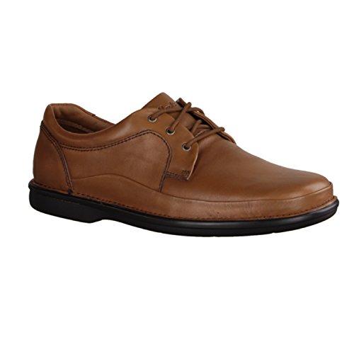 Clarks Butleigh Edge Hombre Derby Zapatos Bajo Con Cordones Marrón
