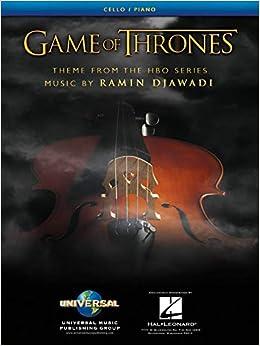 Game of Thrones Theme Arranged for Cello & Piano - Sheet