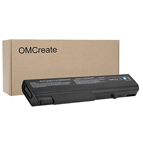 OMCreate Battery for HP EliteBook 8440P 6930P 8440W ProBook 6550B 6455B Compaq 6730B 6735B 6530B, fits P/N 482962-001 HSTNN-UB69 KU531AA - 12 Months Warranty [Li-ion 6-Cell]
