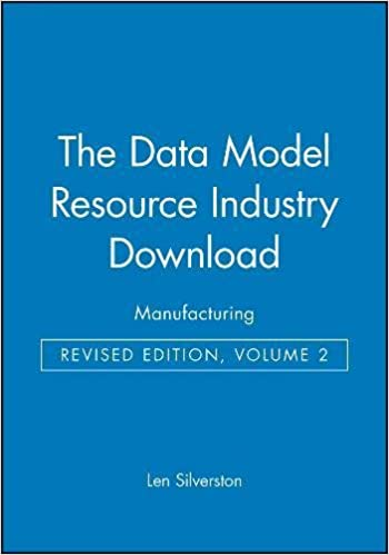 The Data Model Resource CD: Manufacturing - Livros na Amazon