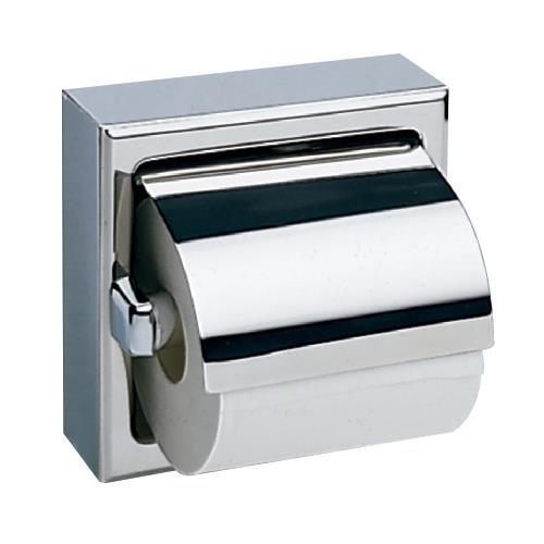 Bobrick - B-66997 - Ed Satin Finish Single Toilet Tissue Dispenser mit Hood