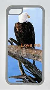 Diy iphone 5 5s case The Bird Standing on the Deadwood DIY Rubber TransparentIphone 5 5S Perfect By Custom Service