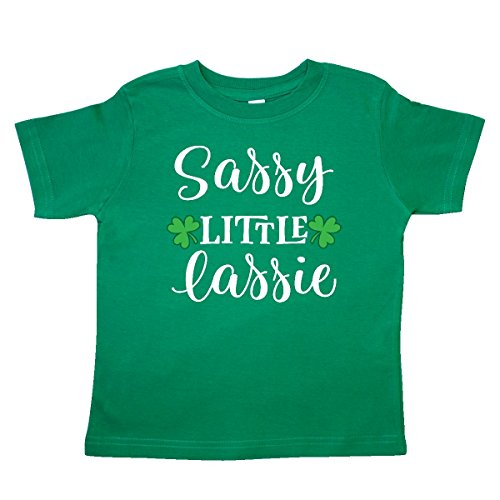 inktastic St Patricks Irish Lassie Toddler T-Shirt 2T Kelly Green