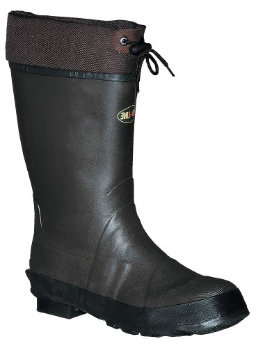 UPC 035966431469, Pro Line Men's Rubber Pac Boot Waterproof Boots,Chocolate Brown,9 M US