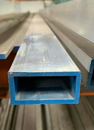 1 X 2 X 1//8 Wall 6061 T6 Aluminum Rectangular Tube 72 Piece