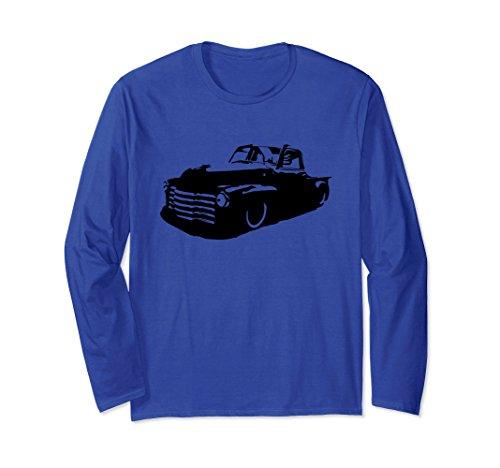 - Unisex Rat Rod Hot Rod Shirt 47-54 Classic Truck Gift Shirt Large Royal Blue